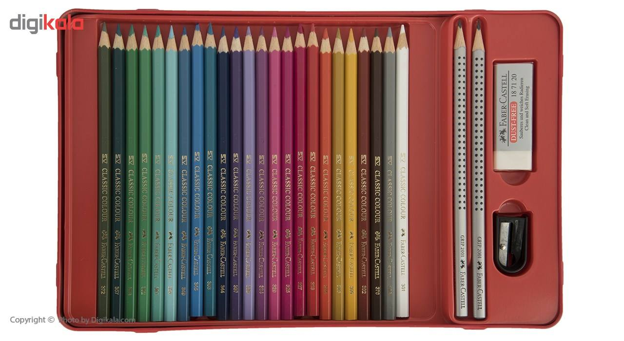 مداد رنگی 48 رنگ فابر-کاستل مدل Sketch main 1 6