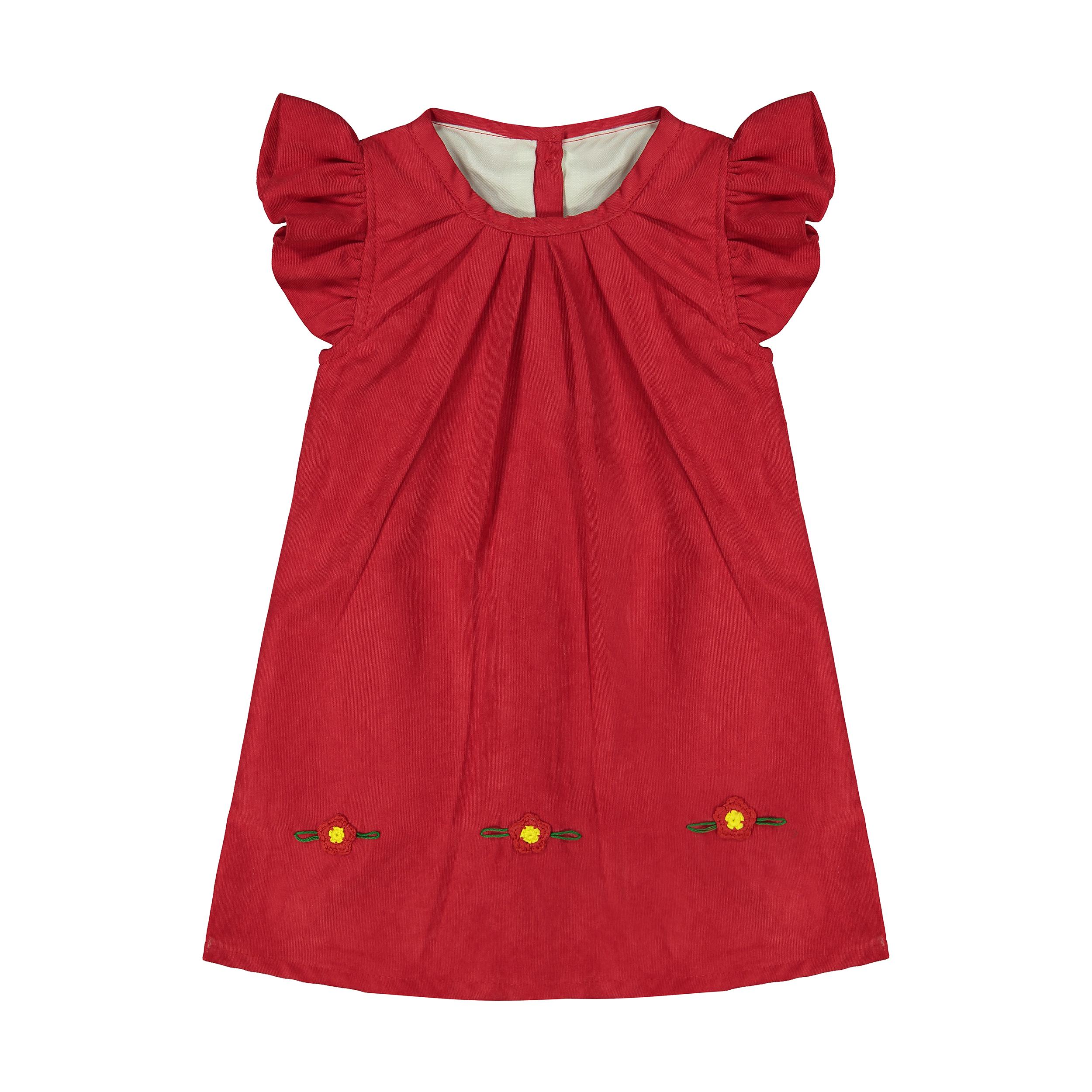 پیراهن نوزادی دخترانه کد 1016