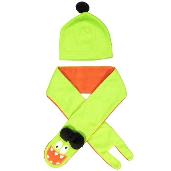 ست کلاه و شال گردن کودک دینو مدل 15STK-CILGN