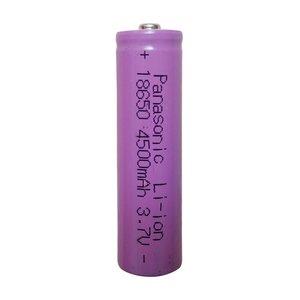 باتری لیتیوم-یون قابل شارژ پاناسونیک کد P-18650 ظرفیت 4500 میلی آمپرساعت بسته 10 عددی