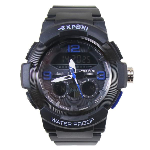 ساعت مچی عقربه ای مردانه اکسپونی مدل EP3268-BE