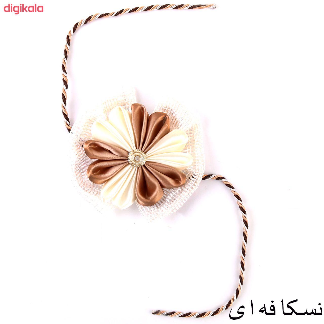 پرده جمع کن طرح گل بسته 2 عددی main 1 4