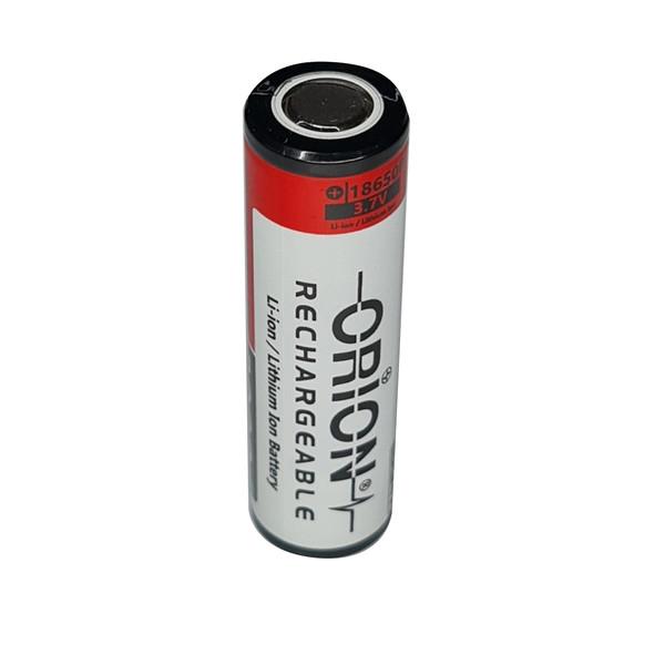 باتری لیتیوم یون قابل شارژ اوریون کد 18650 ظرفیت 3000 میلی آمپرساعت