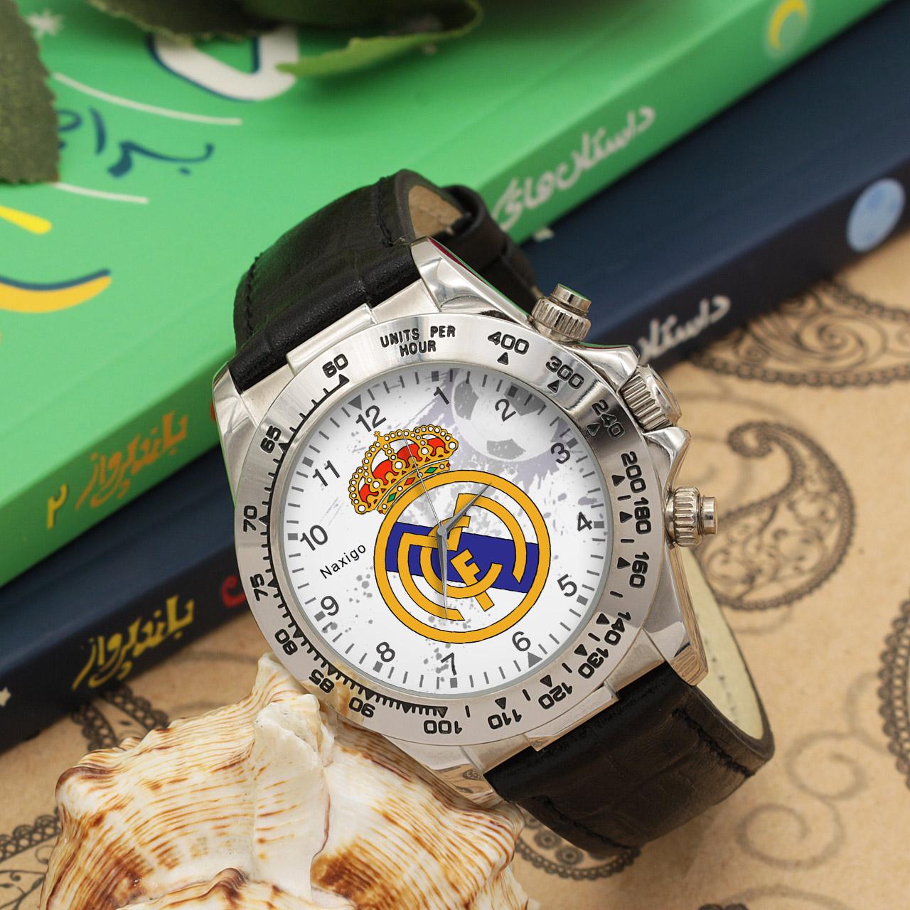 ساعت مچی  مردانه ناکسیگو طرح رئال مادرید کد LS3515