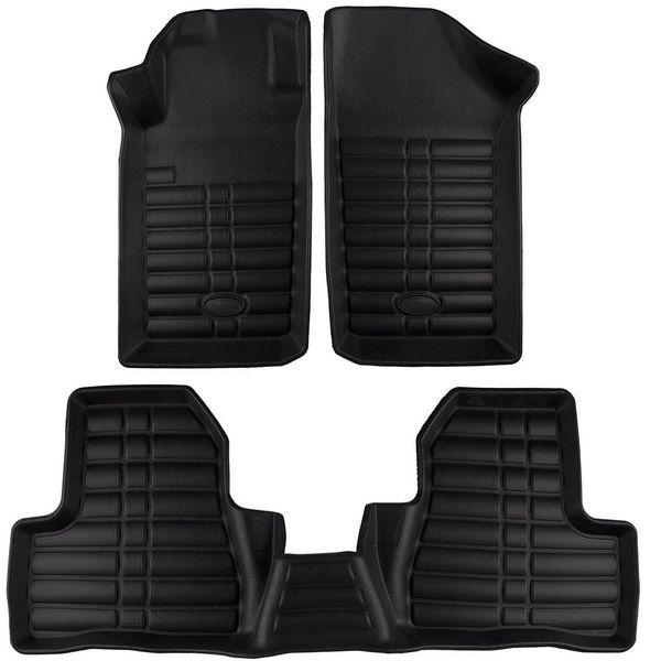 کفپوش سه بعدی چرمی خودرو بابل کارپت مناسب برای پژو 206