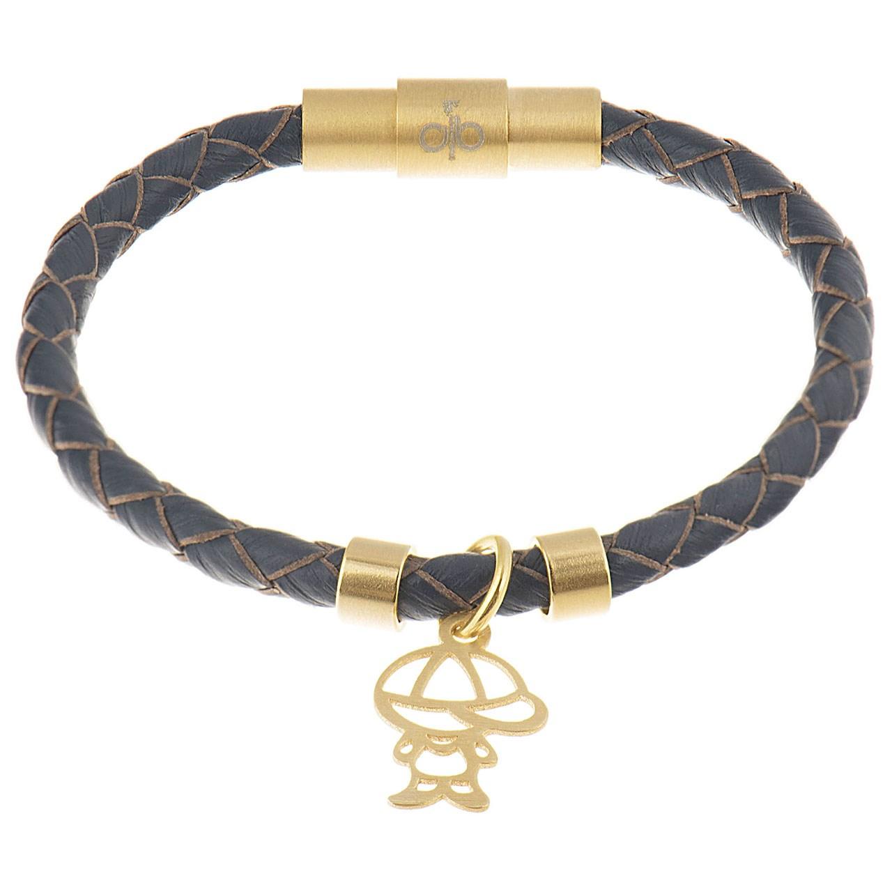 دستبند کودکانه طلا 18 عیار رزا مدل BW103