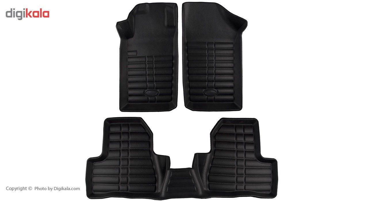 کفپوش سه بعدی چرمی خودرو بابل مناسب برای پژو 206 main 1 1