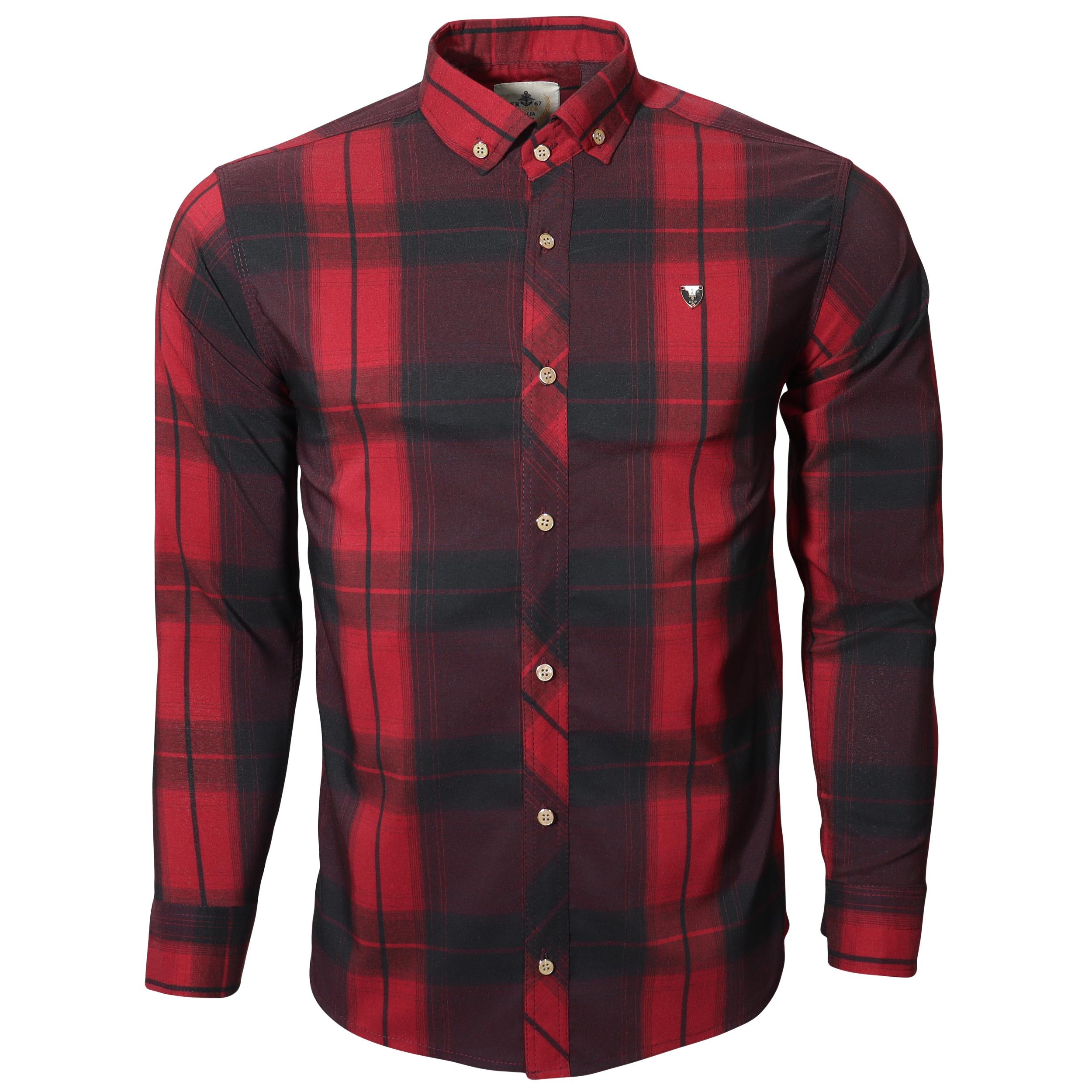 پیراهن آستین بلند مردانه مدل ch410018