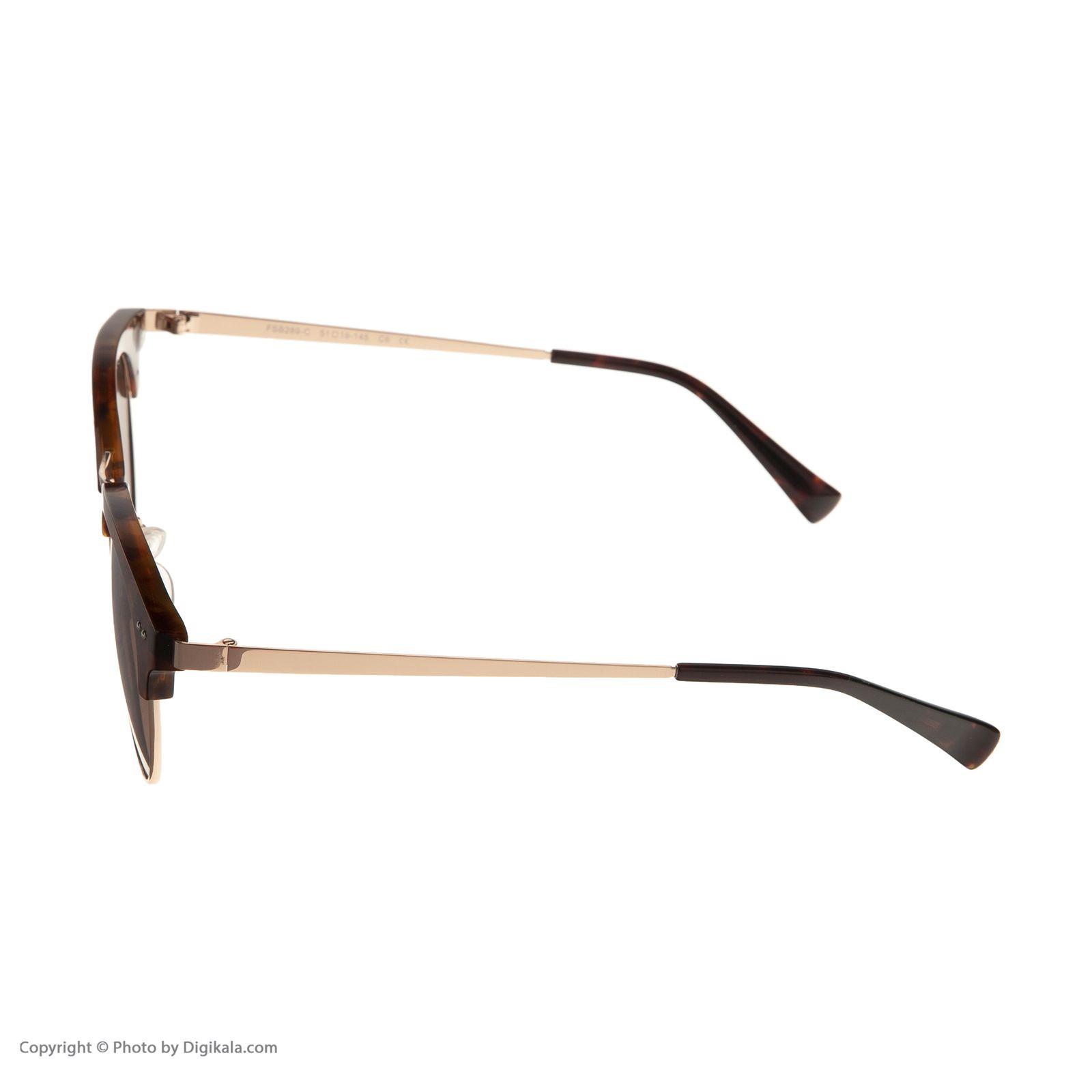 عینک آفتابی مردانه اف اس بی مدل 289-c C6 -  - 5