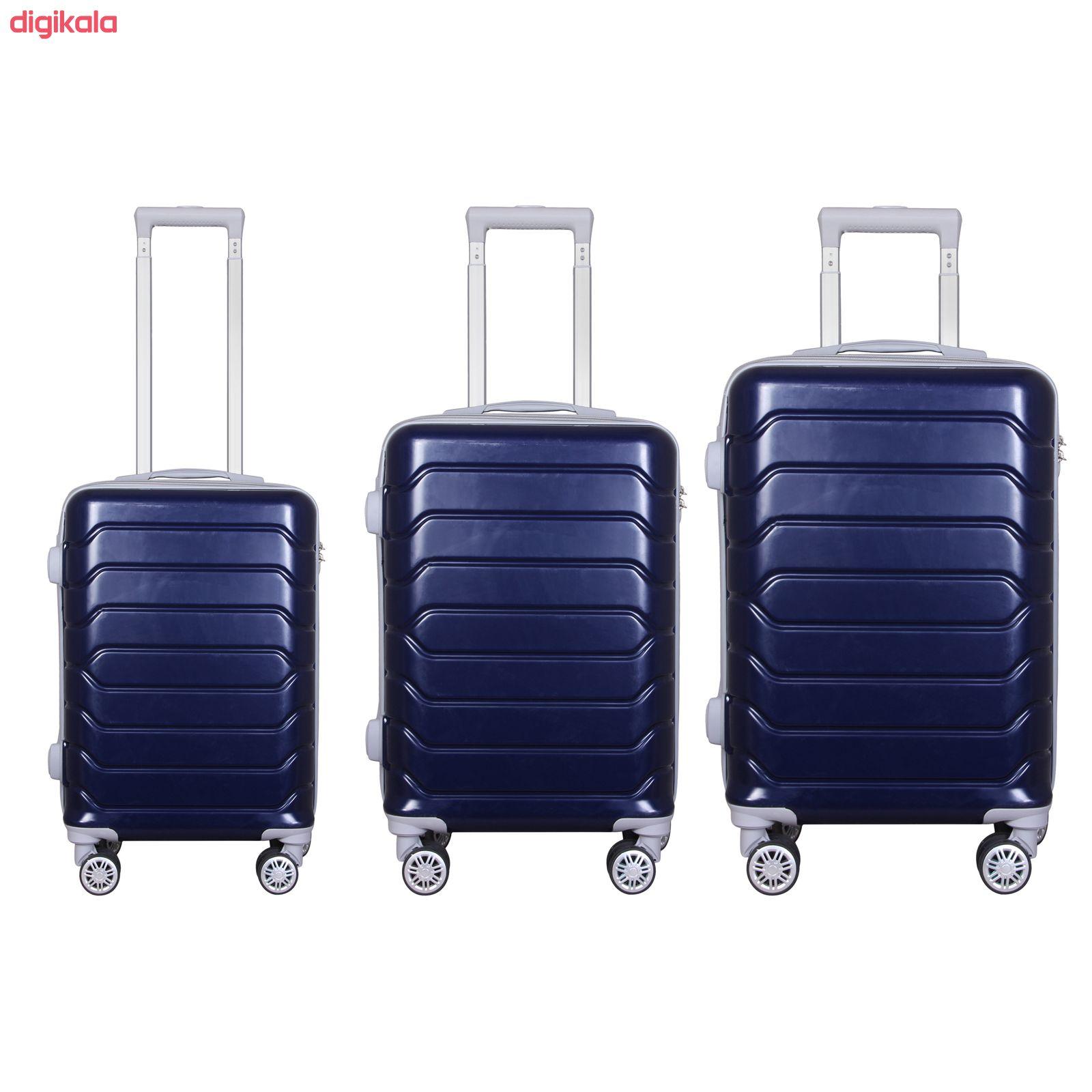 مجموعه سه عددی چمدان مدل 10021 main 1 33