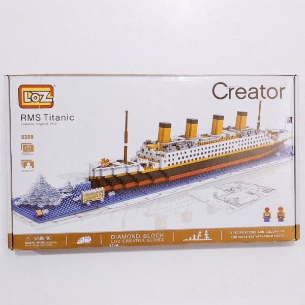 ساختنی لوز مدل کشتی تایتانیک کد 9389