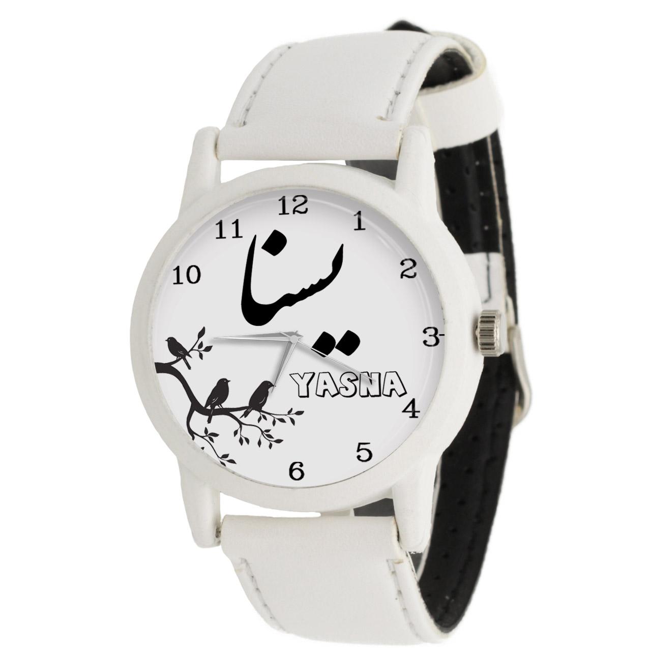 ساعت مچی عقربه ای زنانه طرح یسنا کد LF3123              ارزان