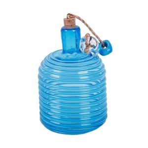 بطری شیشه ای مدل نوارمنظم