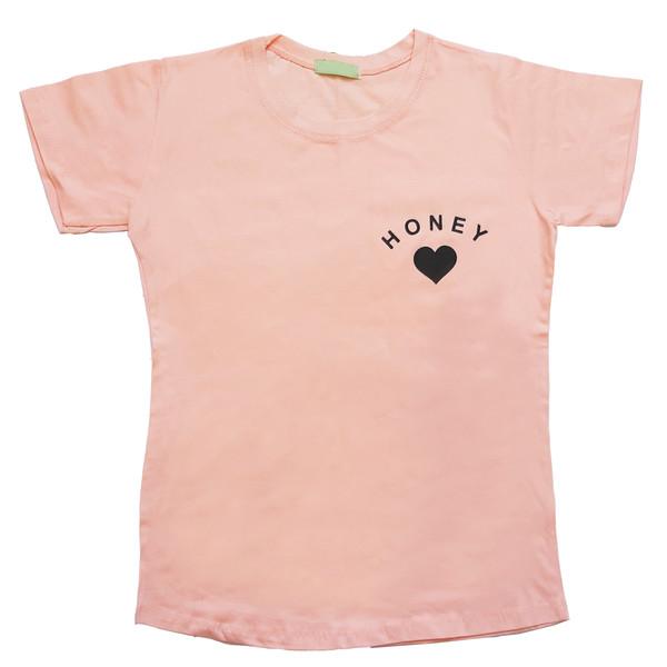 تی شرت زنانه کد 1034B
