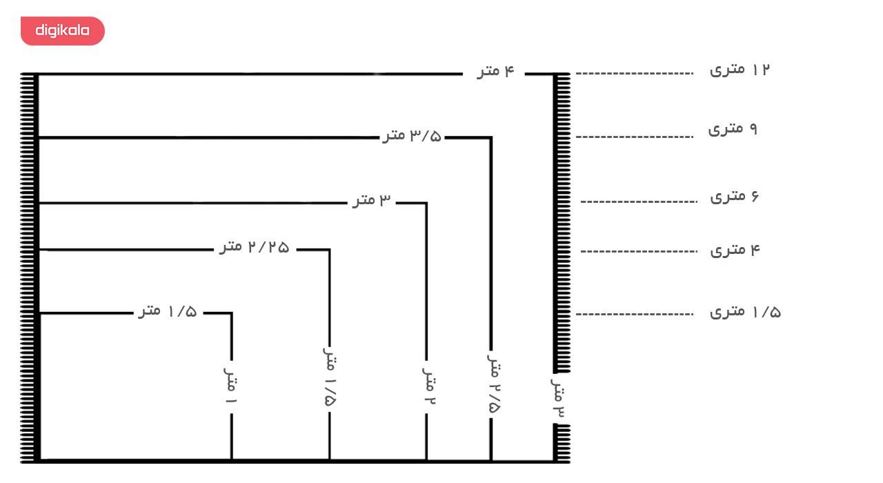 فرش ماشینی ساوین طرح شیوا کد FSM49 زمینه سرمه ای main 1 4