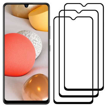 محافظ صفحه نمایش مدل FCG مناسب برای گوشی موبایل سامسونگ Galaxy A42 بسته سه عددی
