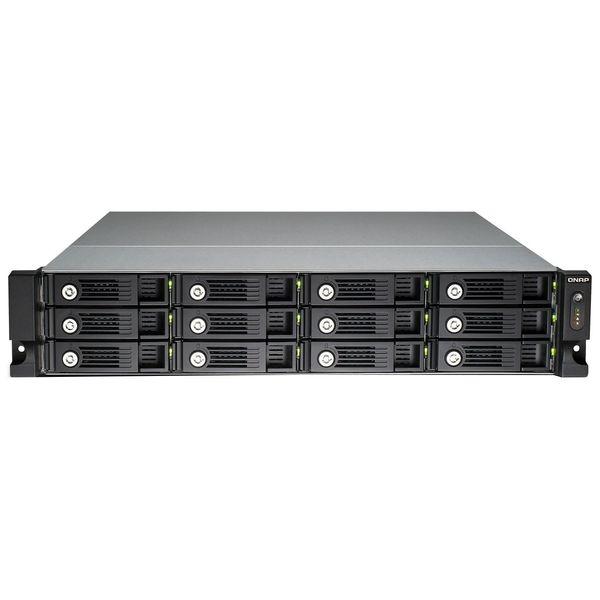 ذخیره ساز تحت شبکه کیونپ مدل  TVS-1271U-RP دوازده سینی فاقد هارددیسک