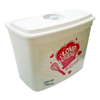 سطل زباله کابینتی هوبی لایف مدل لاو کوکینگ