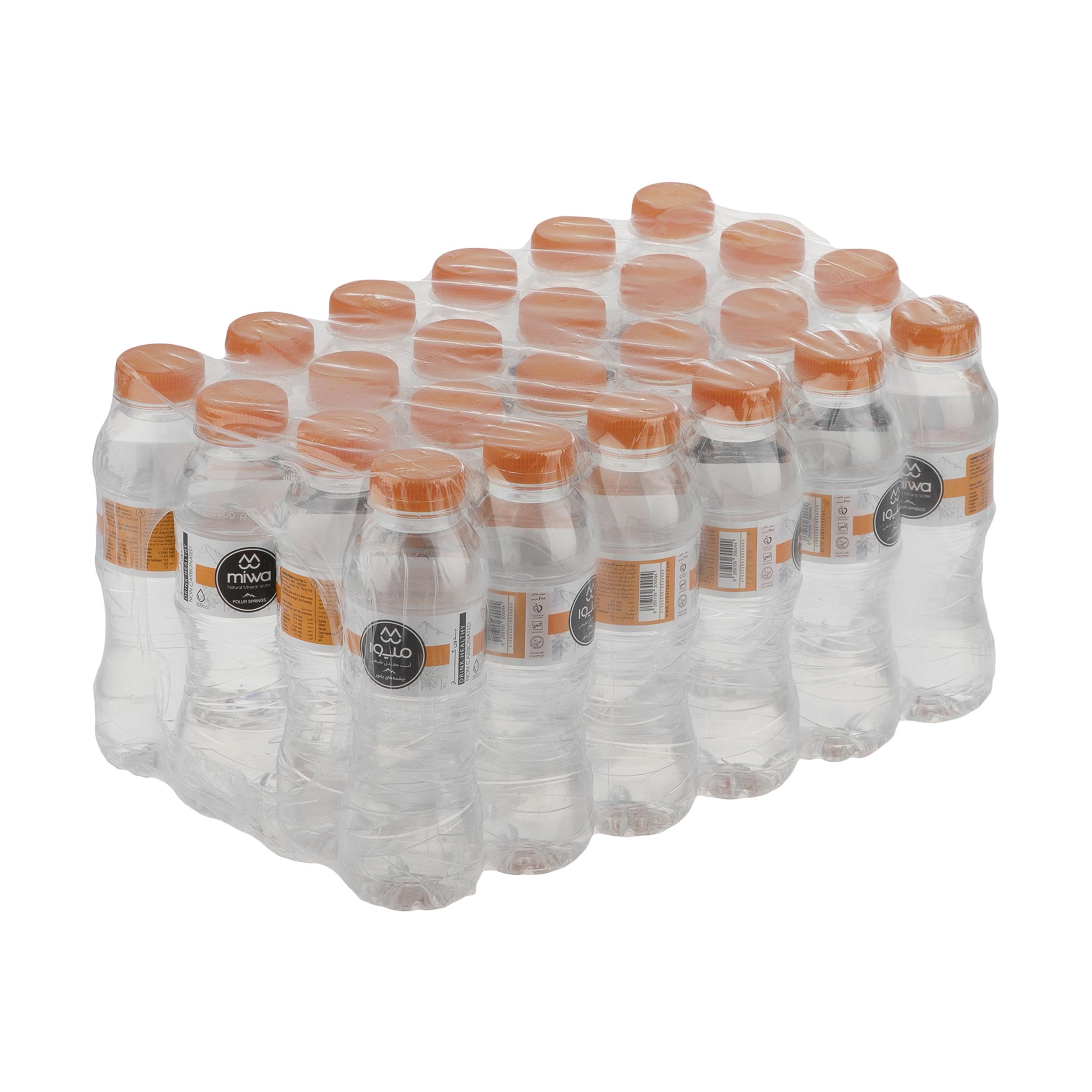 آب معدنی میوا - 200  میلی لیتر بسته 24 عددی
