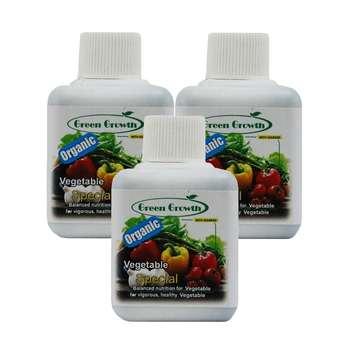 کود مایع سبزیجات گرین گروت بسته 3 عددی