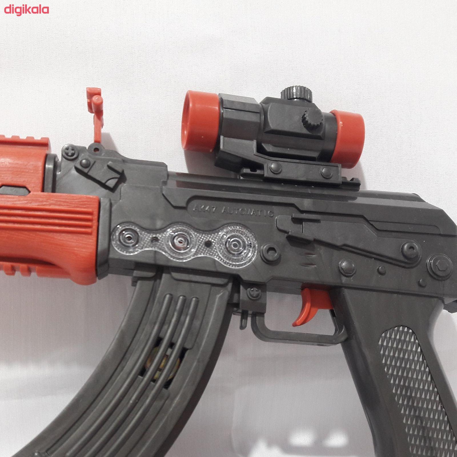 تفنگ بازی مدل مسلسل دوربین دار کد BKH18 main 1 2
