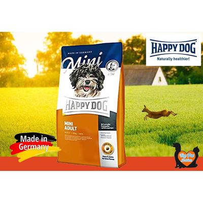 غذای خشک سگ هپی داگ مدل mini adult کیلوگرم 4