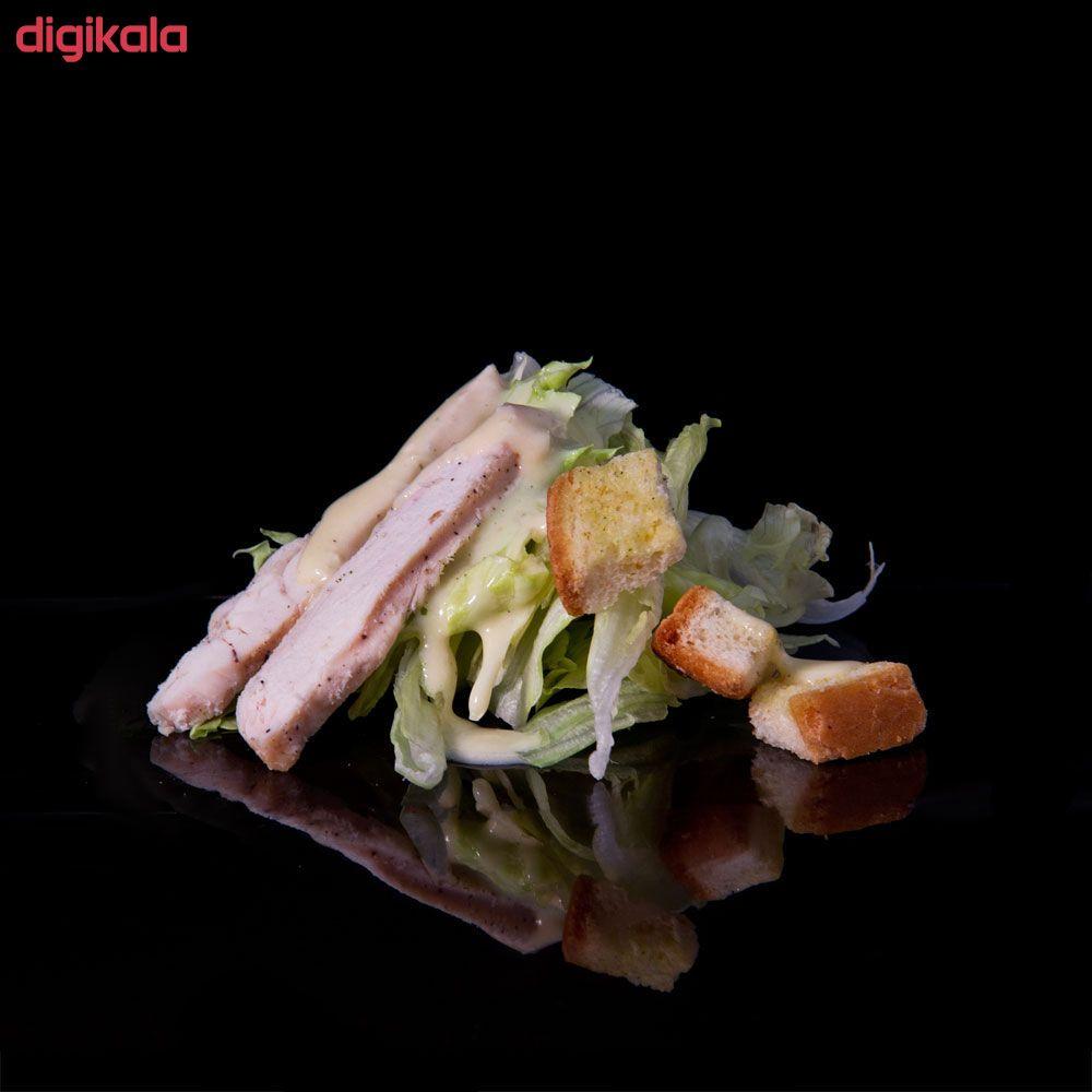 سالاد سزار با مرغ مزبار - 550 گرم main 1 1