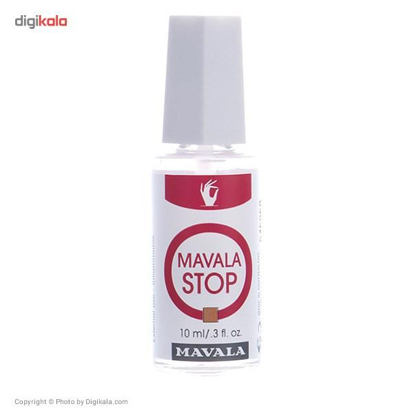 محلول جلوگیری از جویدن ناخن ماوالا مدل ماوالا Stop حجم 10 میلی لیتر