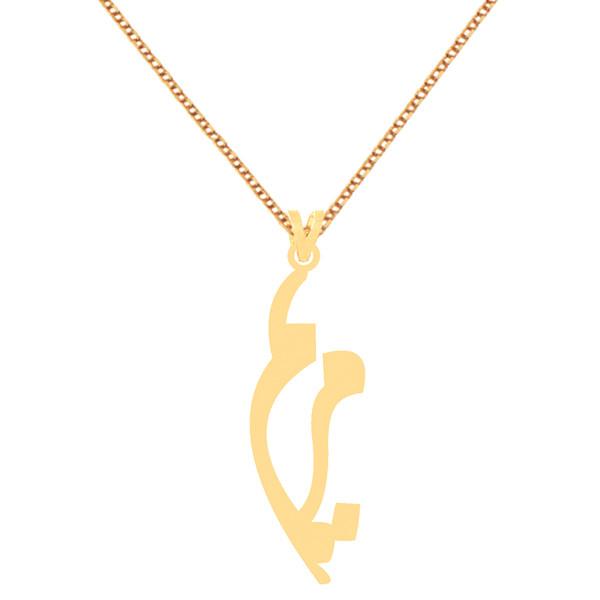 گردنبند طلا 18 عیار زنانه کرابو طرح مریم مدل Kr70167