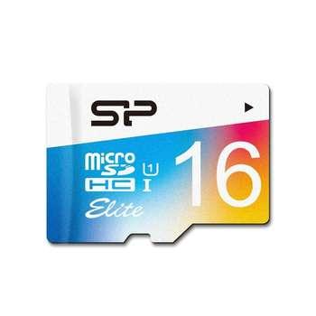 کارت حافظه microSDHC سیلیکون پاور مدل Elite کلاس 10 استاندارد UHS-I U1 سرعت 100MBps ظرفیت 16 گیگابایت