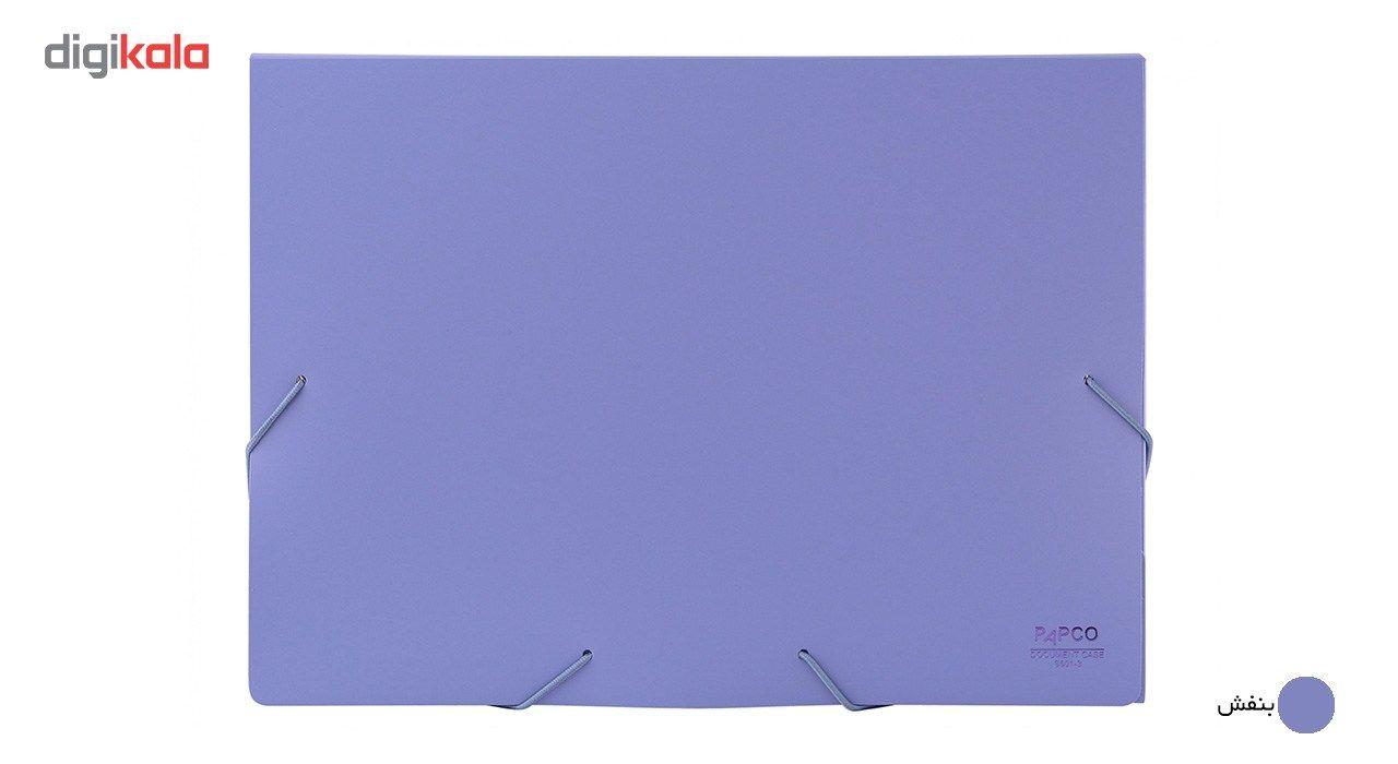 پوشه کش دار پاپکو کد S-501 سایز A4 main 1 4