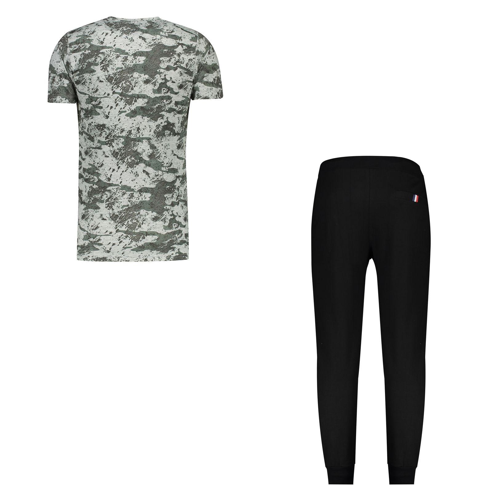 ست تی شرت و شلوار مردانه کد 111213-3 -  - 3