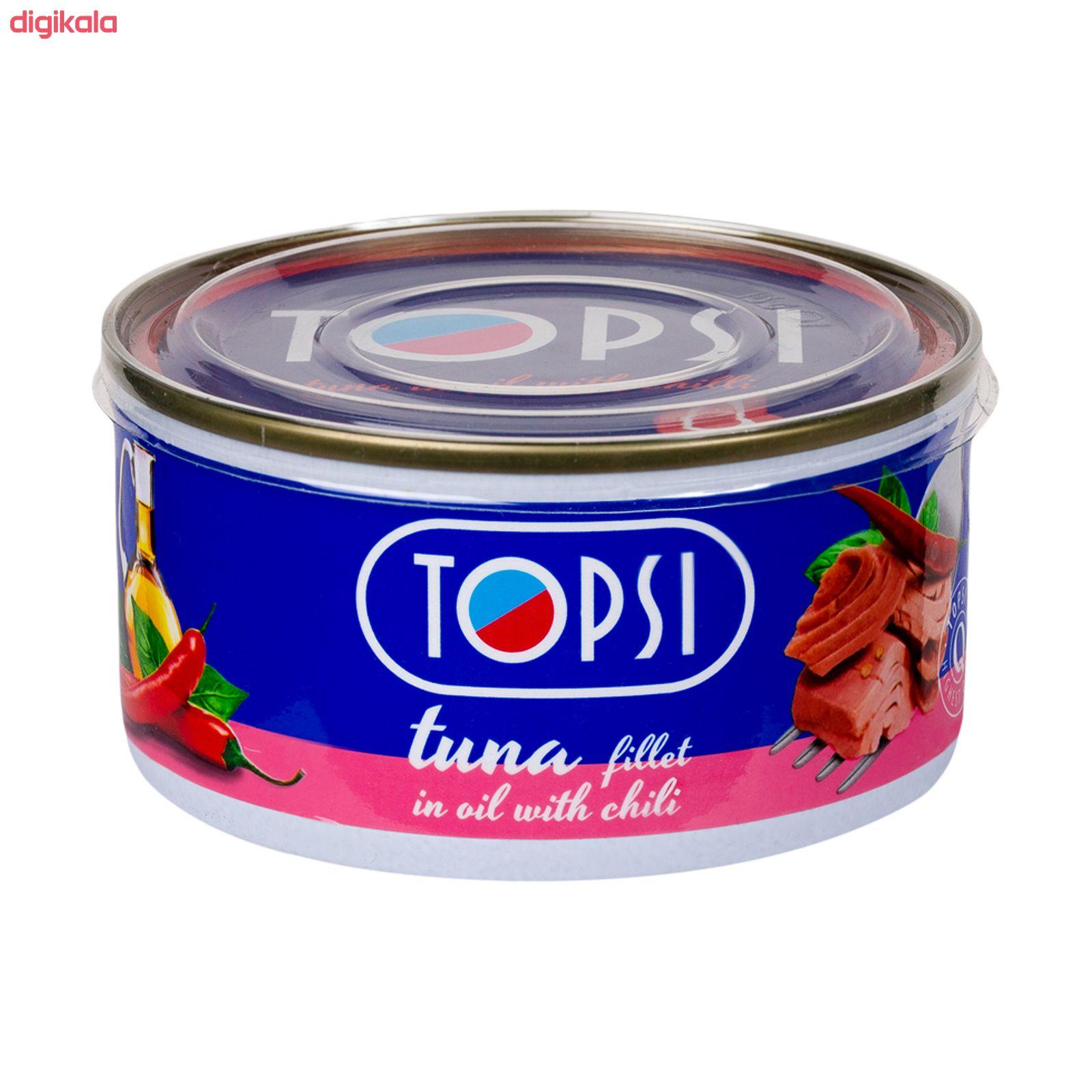 کنسرو ماهی تاپسی با طعم فلفل - 180 گرم main 1 1