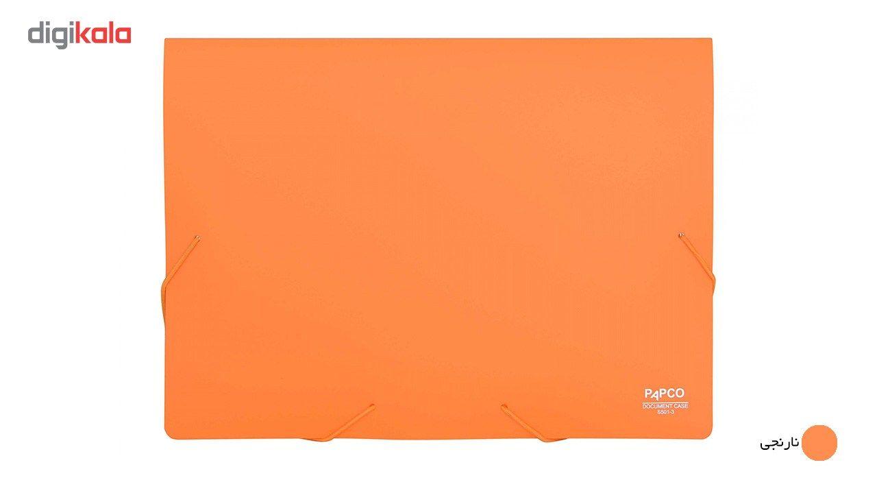 پوشه کش دار پاپکو کد S-501 سایز A4 main 1 14