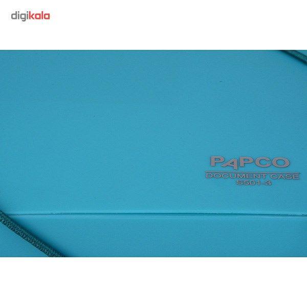 پوشه کش دار پاپکو کد S-501 سایز A4 main 1 16