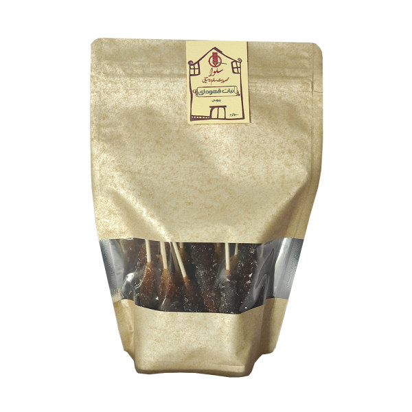 نبات قهوه ای چوبی سلوا - 500 گرم