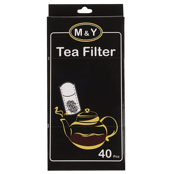 فیلتر چای ام اند وای بسته 40 عددی