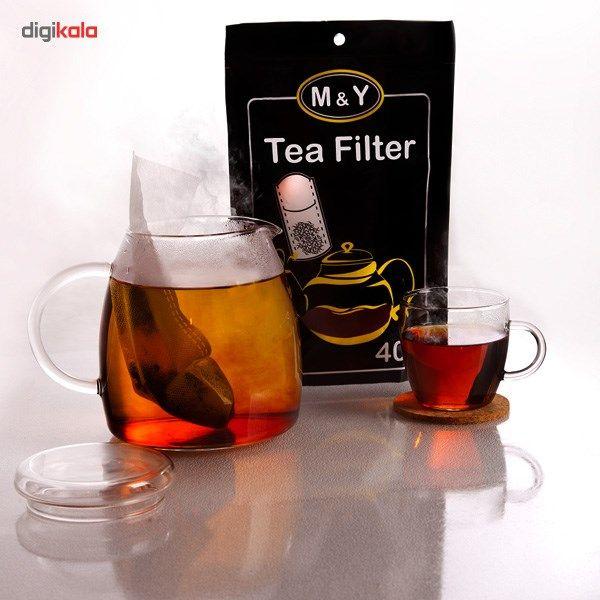 فیلتر چای ام اند وای بسته 40 عددی main 1 2