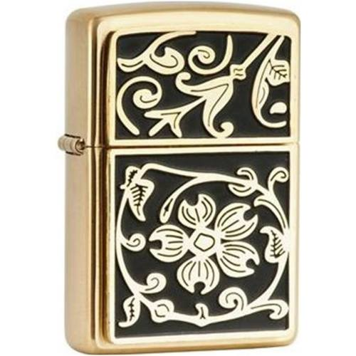 فندک زیپو مدل Gold Floral Flourish کد 20903