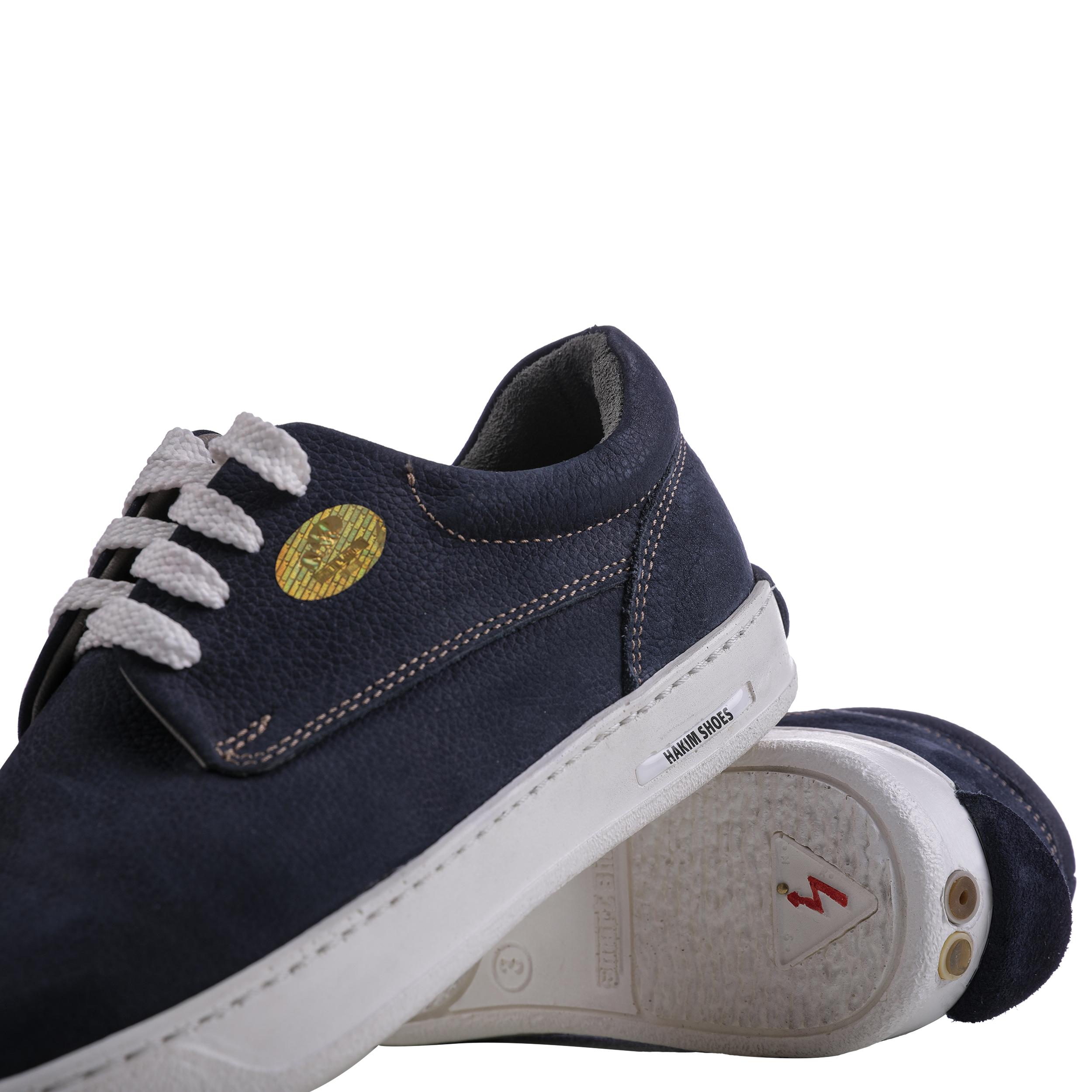 کفش روزمره هوشمند مردانه حکیم مدل T5 رنگ سرمه ای -  - 3