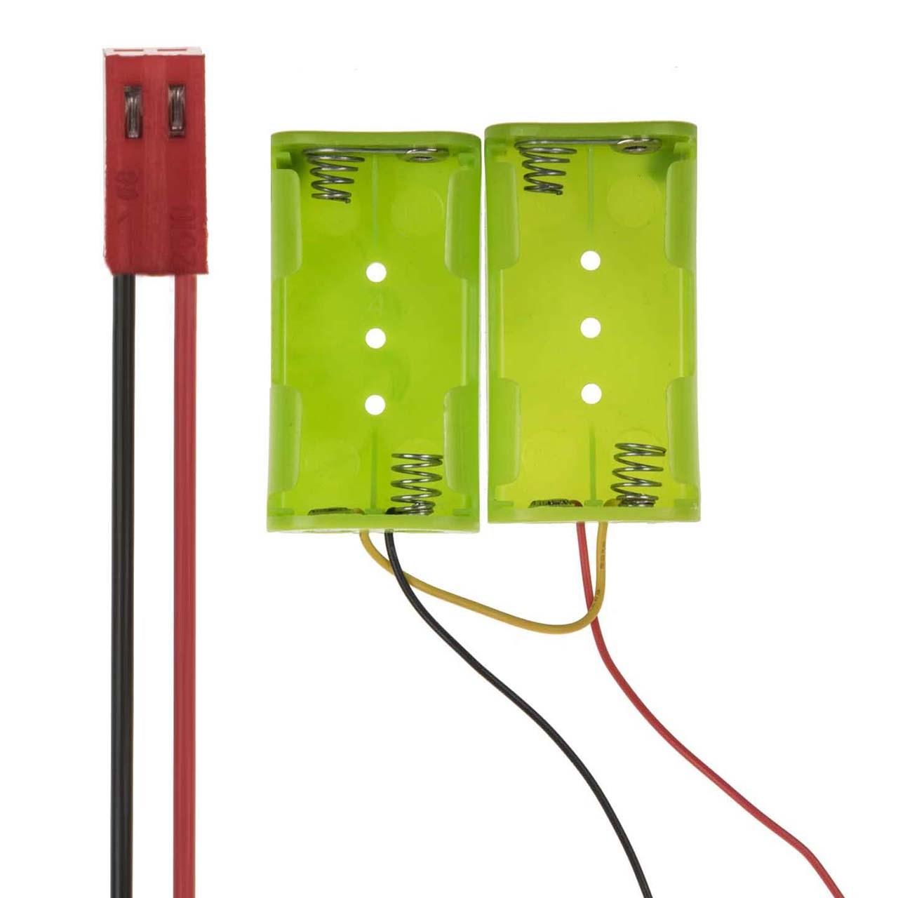 محفظه باتری انارستان مدل Rokaro بسته 2 عددی