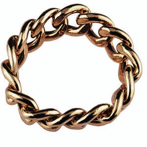 انگشتر دخترانه مدل زنجیر