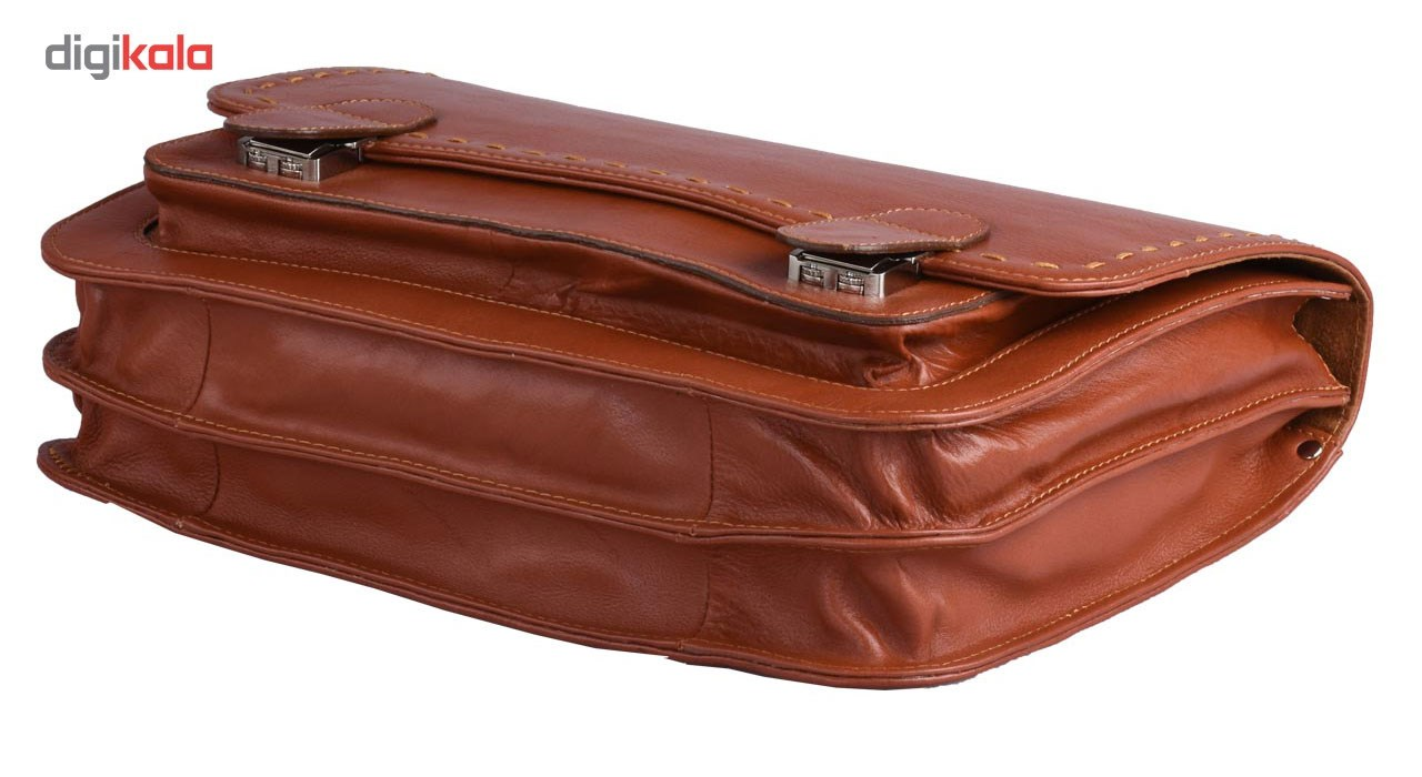 کیف اداری چرم طبیعی کهن چرم مدل L15
