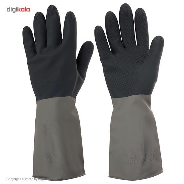 دستکش صنعتی استادکار مدل سه لایه main 1 1