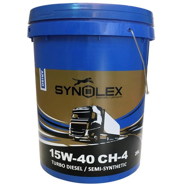 روغن موتور دیزلی سینولکس مدل آریسو 15W-40 CH-4 ظرفیت 20 لیتر