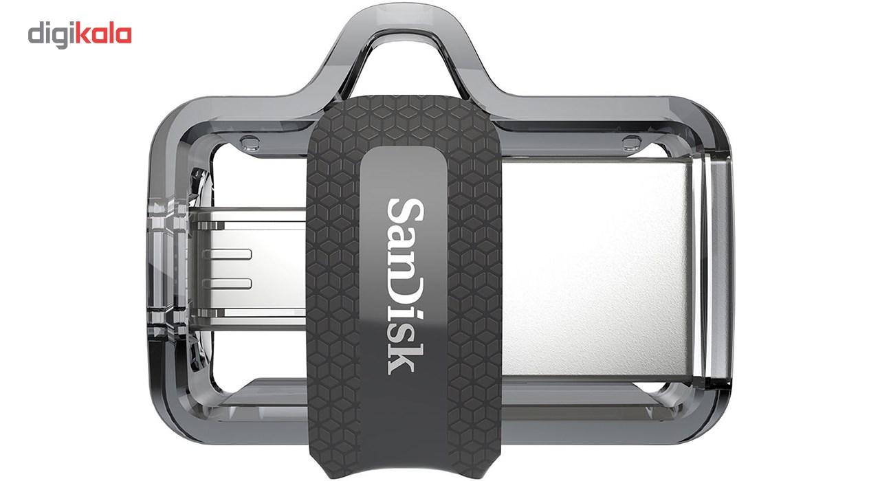 فلش مموري سن ديسك مدل Ultra Dual Drive M3.0 ظرفيت 16 گيگابايت