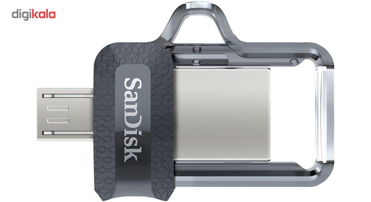 فلش مموری سن دیسک مدل Ultra Dual Drive M3.0 ظرفیت 16 گیگابایت main 1 3