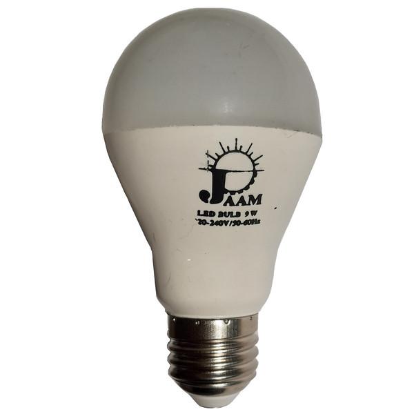لامپ ال ای دی 9 وات جام کد jm09 پایه E27