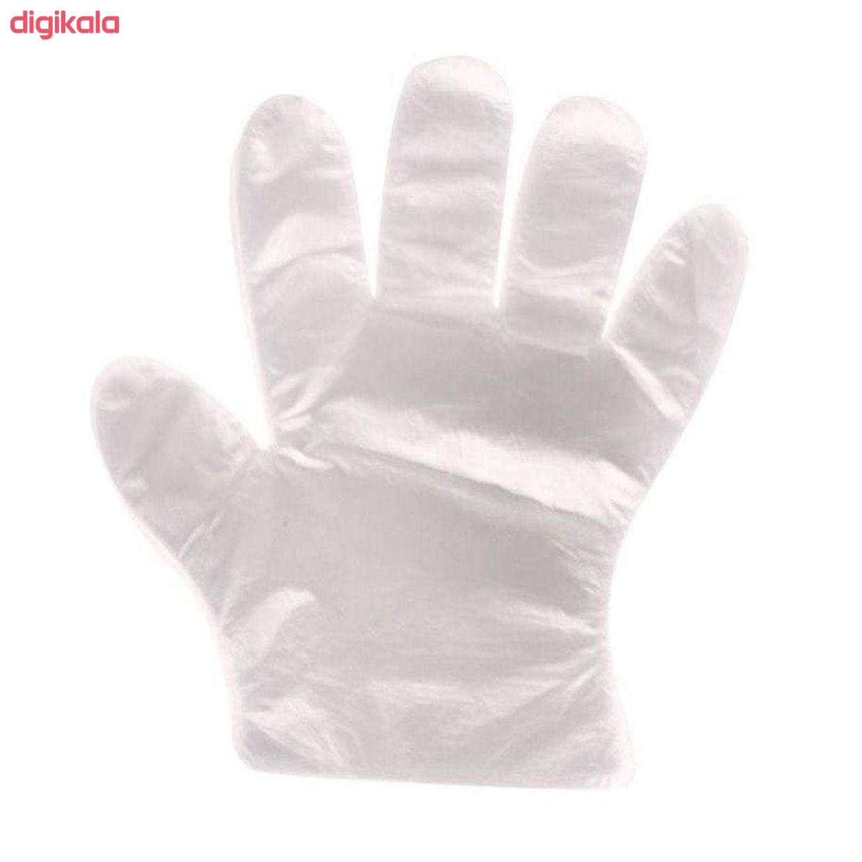 دستکش یکبار مصرف مدل AB1 بسته 100 عددی main 1 2