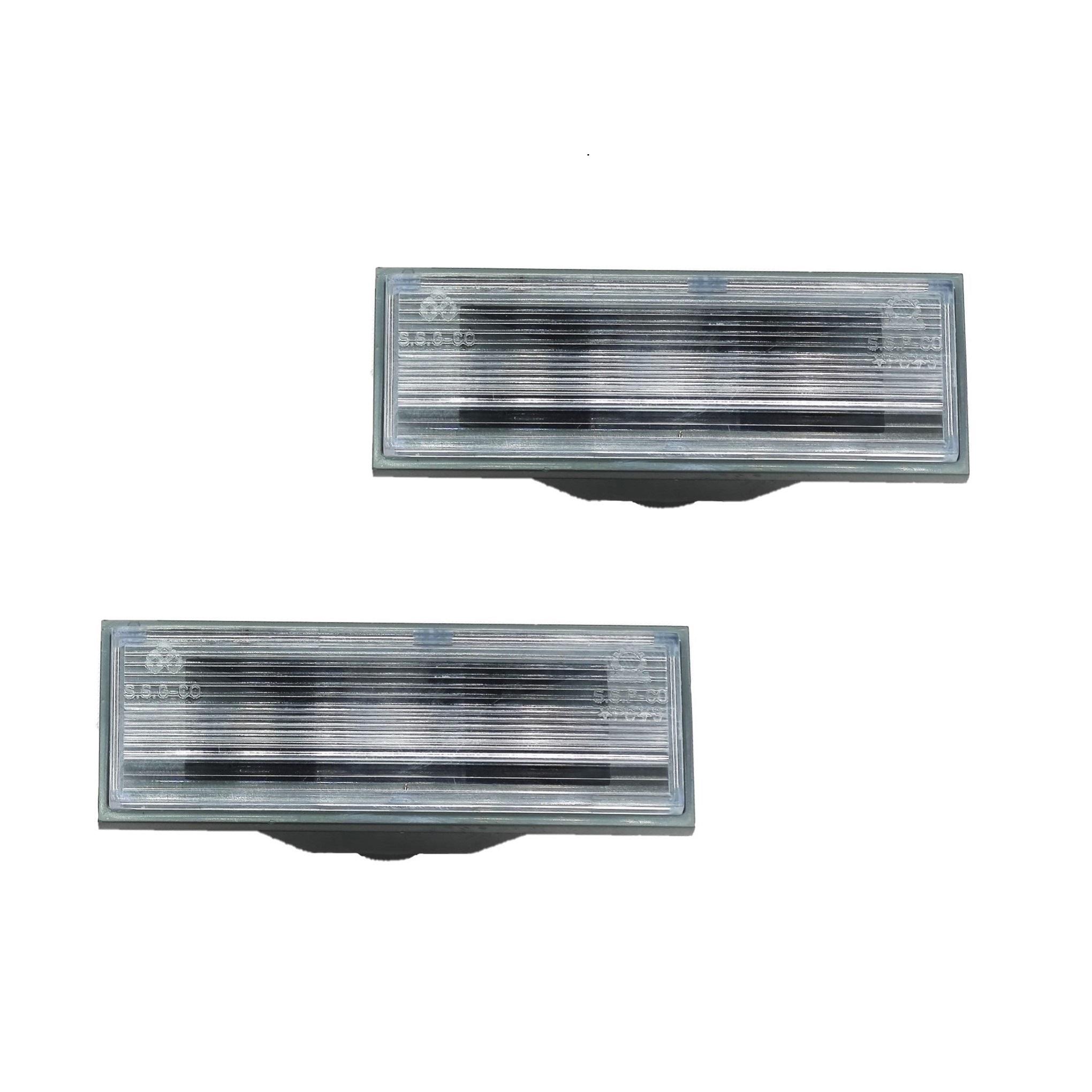 چراغ پلاک خودرو مدل SHPNL01 مناسب برای پراید 132 بسته 2 عددی